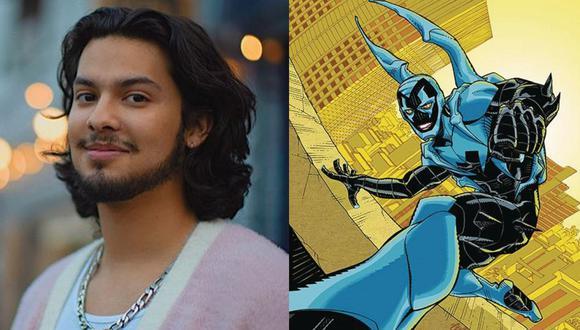 "Xolo Maridueña interpretará a ""Blue Beetle"", superhéroe latino de DC Comics. (Foto: Composición/Instagram)"