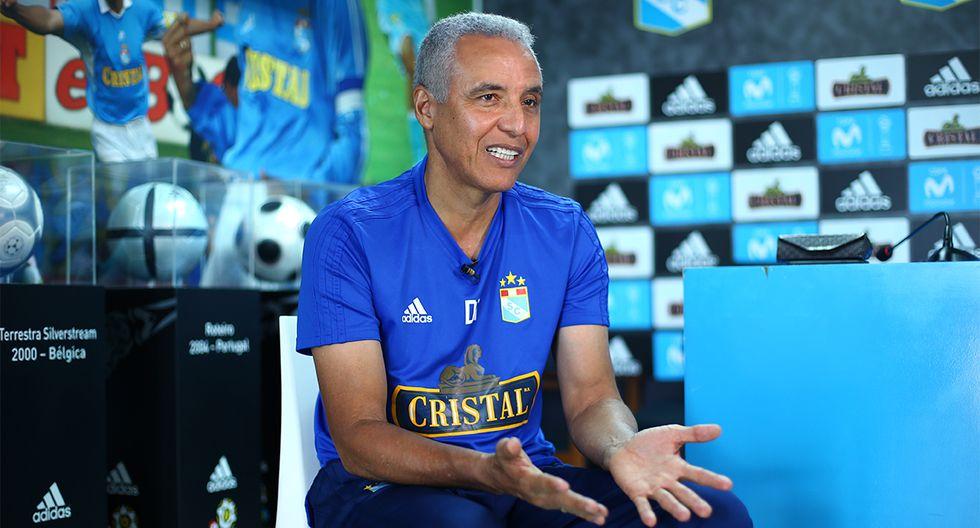 Alexis Mendoza fue presentado en Sporting Cristal pero no dirigió ningún partido oficial. (Foto: GEC)