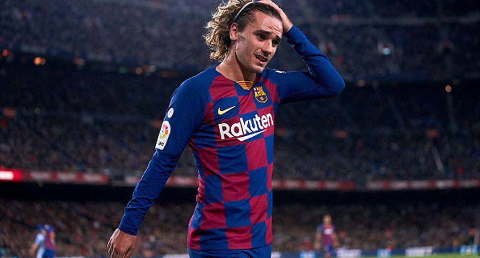 Antoine Griezmann llegó al Barcelona desde el Atlético de Madrid. (Getty)