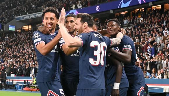 Lionel Messi marcó el segundo gol del PSG ante el City. (Foto: Ligue 1)