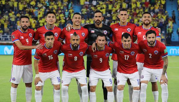 Chile marcha en el octavo puesto de las Eliminatorias CONMEBOL Qatar 2022 con siete puntos. (Getty)