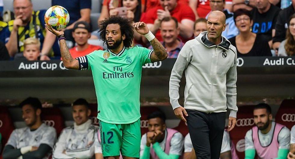 Marcelo llegó al Real Madrid en la temporada 2006/07. (Getty)