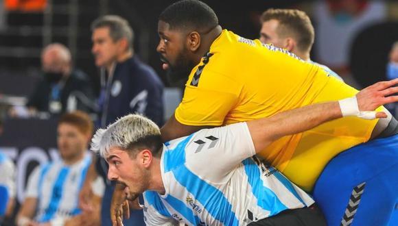 Gauthier Mvumbi es sensación en Mundial de Handball (Foto: Handball Planet)