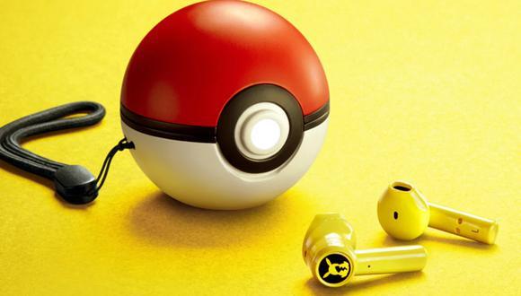 Razer lanza sus nuevos audífonos inalámbricos para fans de Pokémon: son color amarillo Pikachu y su estuche es una Pokébola. (Foto: Razer)