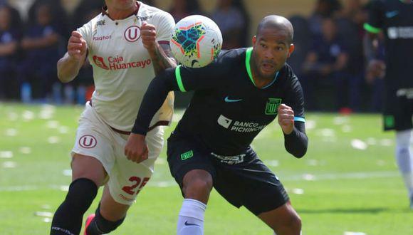 Alberto Rodríguez registra cinco partidos y 387 minutos en la Liga 1. (Foto: GEC)