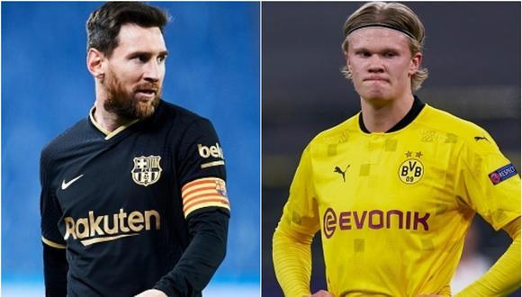 Erling Haaland tiene contrato con el Dortmund hasta el verano de 2024. (Getty)