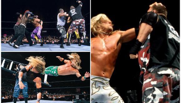 The Dudleys, Hardy Boyz y Edge y Christian, los tres equipos que revolucionaron WWE . (WWE)