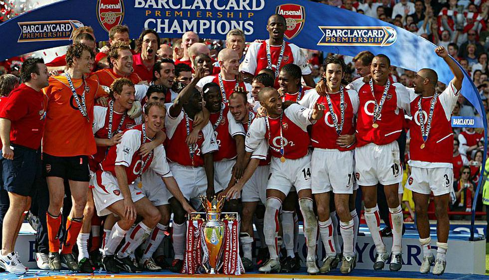 Arsenal no gana la Premier League desde la temporada 2003/04 (Getty Images).