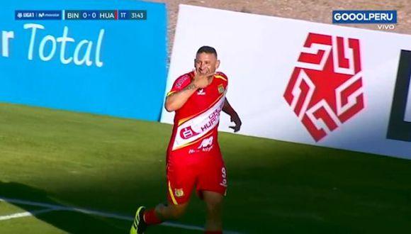 Carlos Neumann abrió el marcador en el choque por la Liga 1 (Video: Golperu)