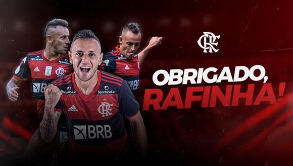 Rafinha fichó por Olympiakos. (Foto: CRF)