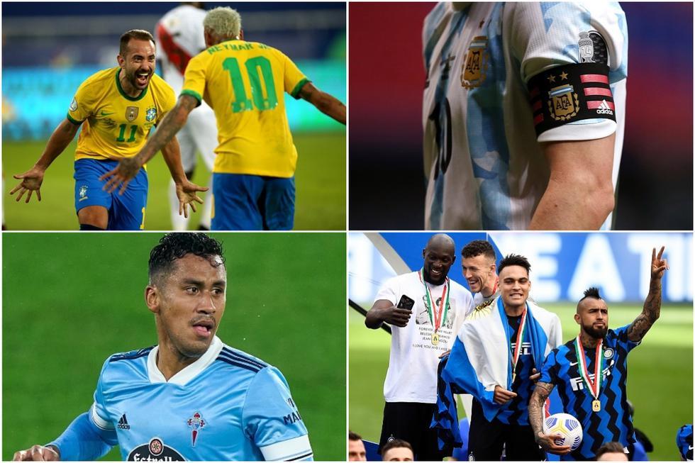 Las ligas del mundo que más jugadores aportan a la Copa América.