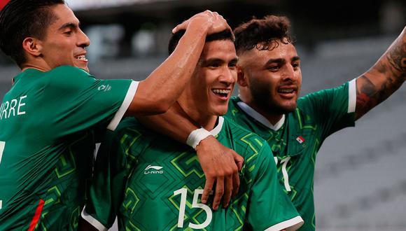 México ganó, gustó y goleó a Francia por 4-1 en su debut en los Juegos Olímpicos Tokio 2020. (Foto: AFP)