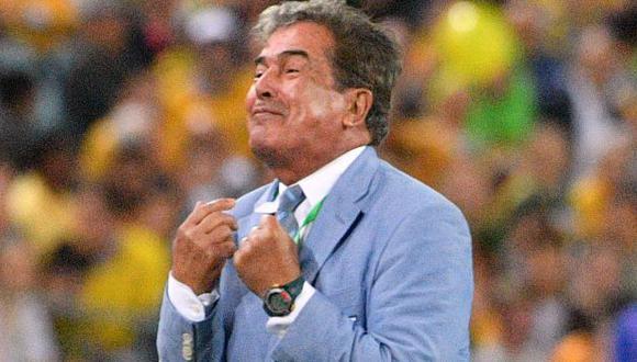 Jorge Luis Pinto tuvo un paso breve por la selección de Emiratos Árabes Unidos. (Foto: AFP)