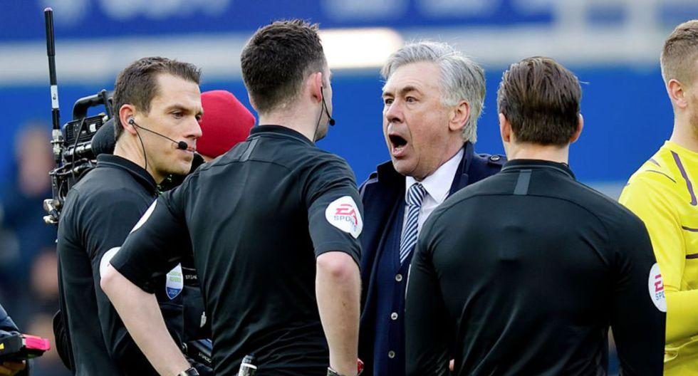 Carlo Ancelotti llegó al Everton en diciembre del año pasado procedente del Napoli. (Getty Images)