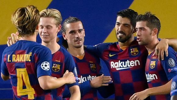 Barcelona enfrentará a Bayern Munich este viernes en los cuartos de final de la Champions League. (Foto: AFP)