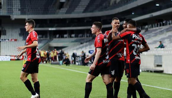 Atlético Paranaense derrotó 4-1 a Peñarol en las semifinales de la Copa Sudamericana. (Foto: Conmebol)