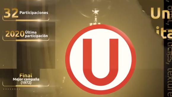 La bienvenida de CONMEBOL a Universitario (Captura)