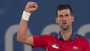Tokio 2020: Novak Djokovic cada vez más cerca del Golden Slam