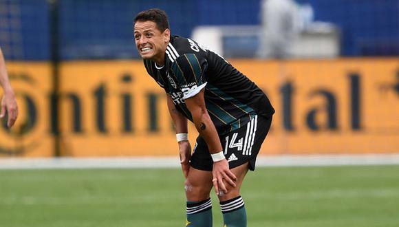 Javier Hernández es el máximo goleador de la MLS 2021 con siete anotaciones (Foto: Getty Images)