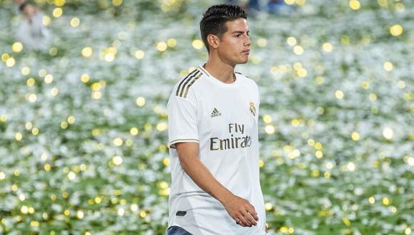 James Rodríguez no está en los planes del Atlético de Madrid, aseguró el presidente del club. (Foto: EFE)