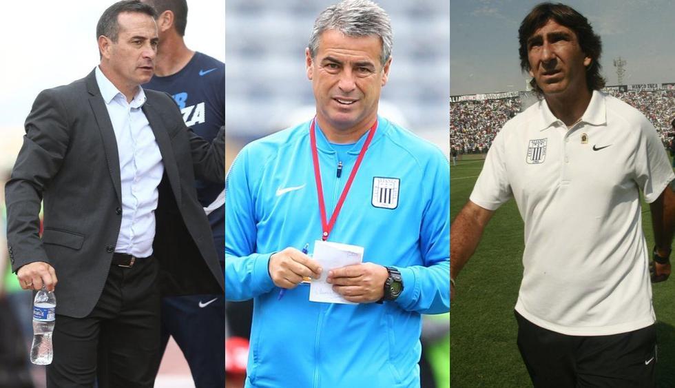 Los entrenadores que pasaron por Alianza Lima en los últimos años. (Foto: GEC)