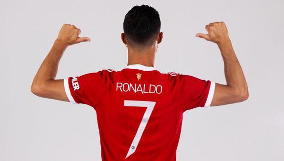 Cristiano Ronaldo es el dueño del número 7 de Manchester United. (Foto: Manchester United)