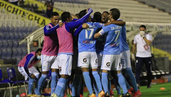 Sporting Cristal sumó su cuarto triunfo consecutivo en la Liga 1 2021. (Foto: Liga de Fútbol Profesional)