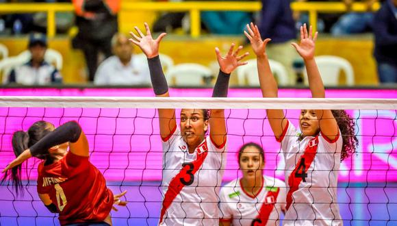 Perú cerró su participación en el Preolímpico Sudamericano con tres derrotas. (FIVB)
