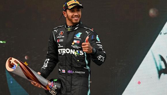 Lewis Hamilton lleva siete títulos en la F1. (AP)