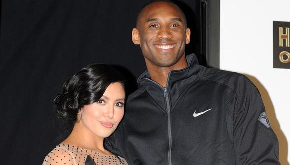 Kobe Bryant conoció a su esposa Vanessa en noviembre de 1999 y lo acompañó hasta los últimos días de su vida (Foto: AFP)