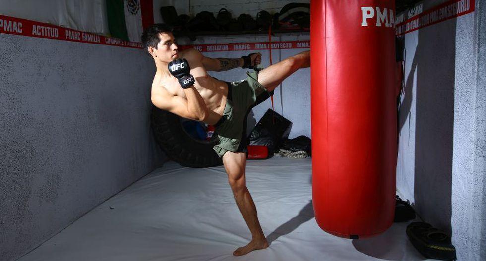 Jesús Pinedo registra un récord de 16-5 como peleador profesional. (Foto: Jesús Saucedo)