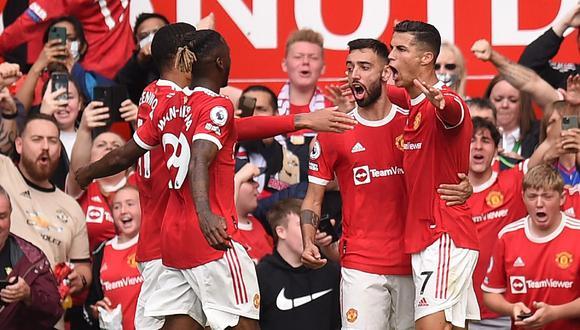 Cristiano Ronaldo marcó dos goles en el triunfo de Manchester United sobre Newcastle. (AFP)