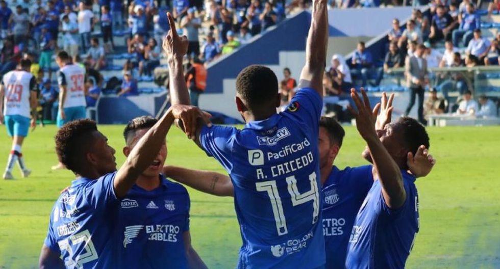 Emelec venció 3-1 a Olmedo por la jornada 27 de la Liga Pro de Ecuador 2019