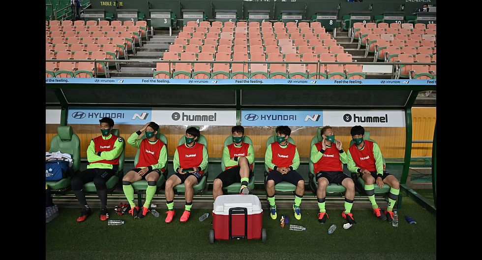 Así fue el inicio de la nueva temporada de la K League 1 de Corea del Sur. (Foto: AFP)