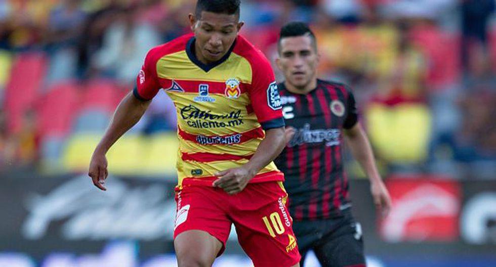 Edison Flores fue suplente e ingresó a los 65' en duelo ante Toluca. (Foto: Monarcas Morelia)
