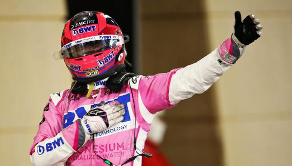 Sergio Pérez conquistó el GP de Gran Premio de Sakhir. (Foto: Fórmula 1)
