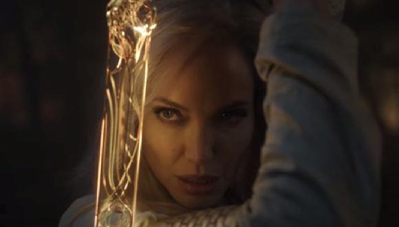 Marvel publicó las primeras escenas de  The Eternals con Salma Hayek y Angelina Jolie