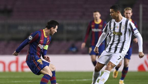 Lionel Messi y Cristiano Ronaldo fueron rivales por nueve años en LaLiga. (Foto: AFP)