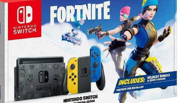 Cómo reservar la Nintendo Switch dedicada a Fortnite y qué ofrece el pack
