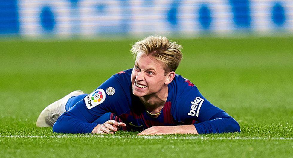 Frenkie de Jong aún no gana títulos con la camiseta del Barcelona. (Foto: Getty Images)