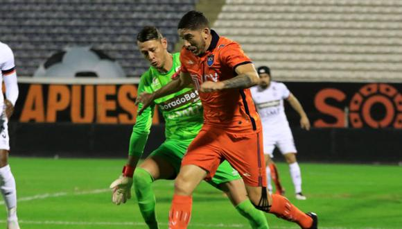 San Martín y César Vallejo jugaron en Matute (Foto: Liga 1)