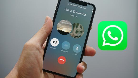 ¡Atención! Mira el truco para saber si alguien está en un videollamada de WhatsApp o no. (Foto: Mockup)