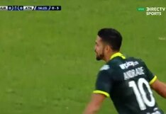 ¡Serie sentenciada! El gol de Andrés Andrade para el 1-0 de Atlético Nacional ante Huracán en Buenos Aires por Copa Sudamericana