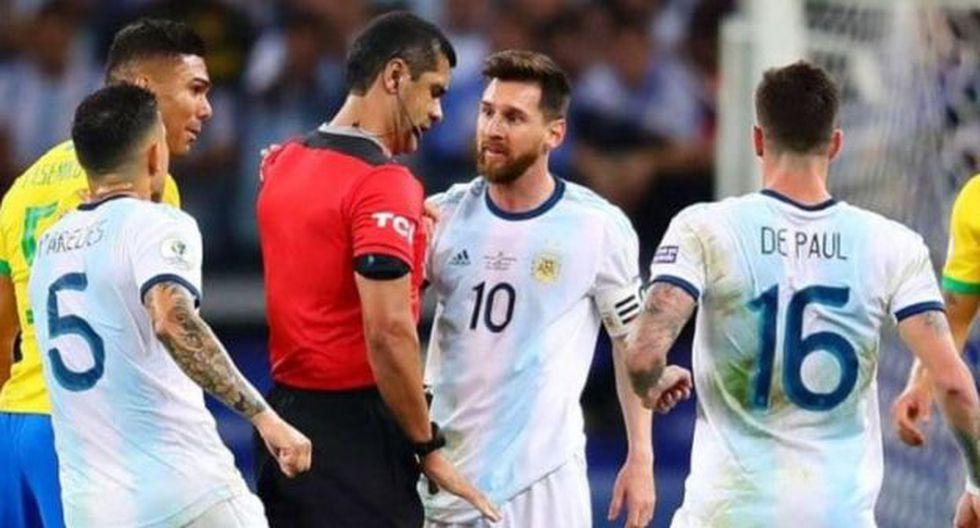 ¿Qué dira Messi? Conmebol admite mal uso del VAR en el Argentina vs. Brasil de Copa América 2019