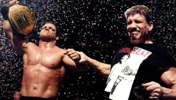 Chris Benoit y Eddie Guerrero fueron parte de The Radicalz en el 2000. (WWE)