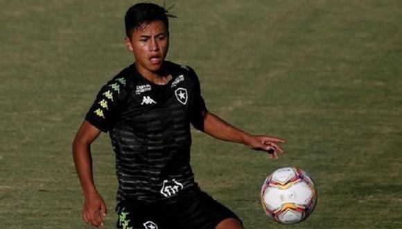 Lecaros llegó a inicios de año a Brasil (Foto: Botafogo)