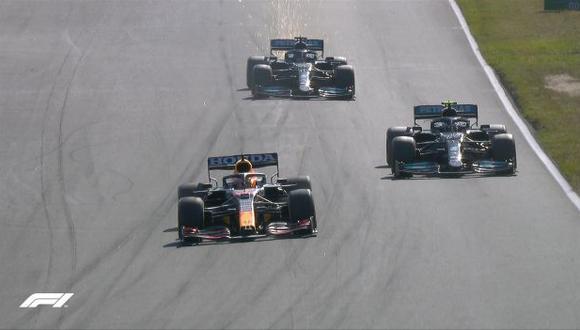 Max Verstappen es el nuevo líder del Mundial de pilotos de  la Fórmula Uno. (Foto: F1)