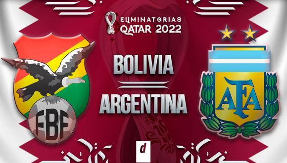 Argentina vs. Bolivia EN VIVO ONLINE: fecha, horarios y canales EN DIRECTO  vía Movistar Deportes, TyC Sports, TV Pública y Tigo Sports LIVE AHORA por  Eliminatorias CONMEBOL Mundial 2022 | VIDEO |
