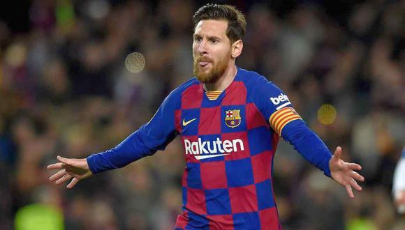 Messi descarta negociar con Bartomeu. (Foto: Agencias)