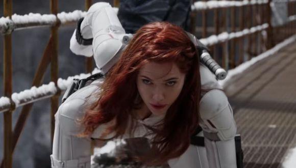 """Marvel publicó más imágenes de """"Black Widow"""" en Internet"""